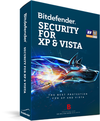 Bitdefender Security for XP and Vista 2021 - 3 PC / 1 Year
