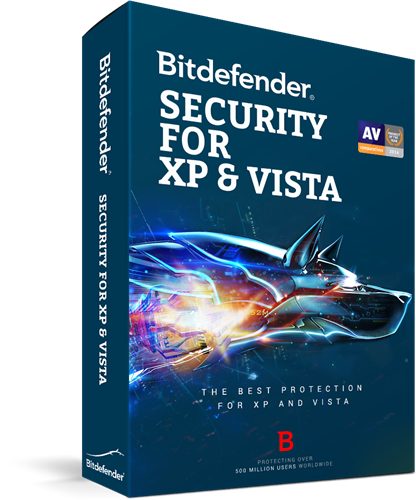 Top Antivirus 2020.Bitdefender Security For Xp And Vista 2020 1 Pc 1 Year