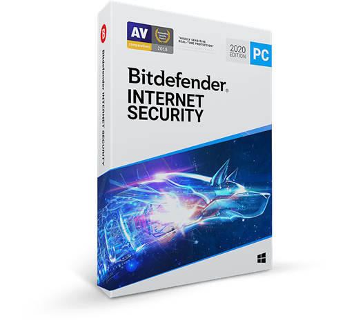 Best 2020 Internet Security Bitdefender InterSecurity 2020   1 PC / Lifetime Edition