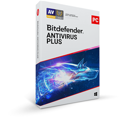 Bitdefender Antivirus Plus 2020 - 1 PC / 1 Year