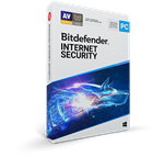 Bitdefender Internet Security 2019 3 PC's for 1 Year