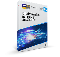 Bitdefender Internet Security 2018 3 PC's for 1 Year