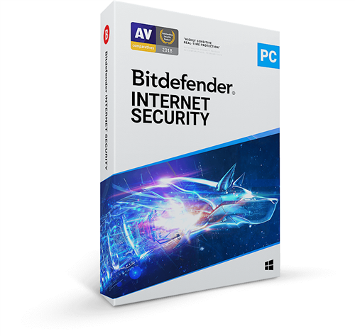 Best 2020 Internet Security Bitdefender InterSecurity 2020/2021 3 PC's for 2 Year   1 Year