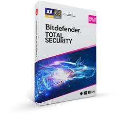 Bitdefender Total Security Multi Device 2020 - 5 Devices - 3 Year