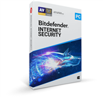 Bitdefender Internet Security 2021 5 PC's for 1 Year