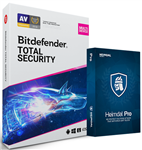 Bitdefender Total Security & Free Heimdal PRO