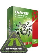 DR.WEB Security Space 11 (2018) 2 PC 2 Year