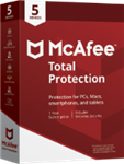 McAfee Total Protection 2019 - 5 Devices / 1 Year