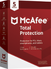 McAfee Total Protection 2021 - 5 Devices / 1 Year