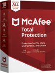 McAfee Total Protection 2019 - Unlimited Devices / 1 Year
