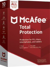 McAfee Total Protection 2021 - Unlimited Devices / 1 Year