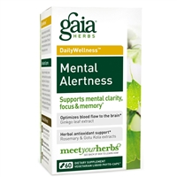 Mental Alertness (60 PhytoCaps) by Gaia Herbs