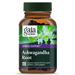 Ashwagandha Root (120 PhytoCaps) by Gaia Herbs