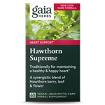 Hawthorn Supreme (60 PhytoCaps) by Gaia Herbs