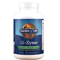 OmegaZyme (180 Caplets) Garden of Life
