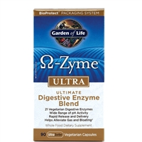 OmegaZyme ULTRA (90 Capsules) Garden of Life
