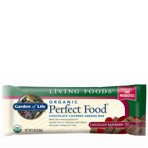 organic perfect food chocolate covered greens bar - Garden Of Life Perfect Food