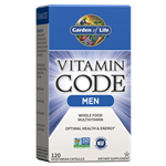 Vitamin Code Men's Multi (120 Capsules) Garden of Life
