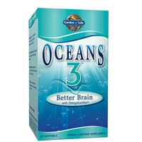 Oceans3 Better Brain (90 Softgels) Garden of Life
