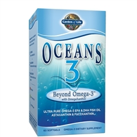 Oceans3 Beyond Omega 3 (60 Softgels) Garden of Life