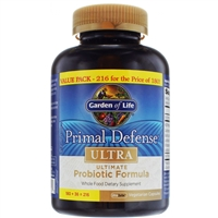 Primal Defense ULTRA (216 Capsules) Garden of Life