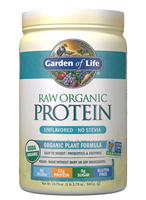 Raw Organic Protein Unflavored (568g Powder) Garden of Life