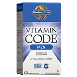 Vitamin Code Men's Multi (240 Capsules) Garden of Life