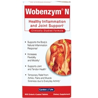 Wobenzym N (800 Tablets) Garden of Life