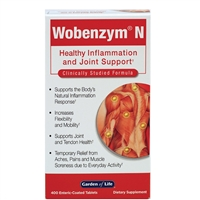 Wobenzym N (400 Tablets) Garden of Life