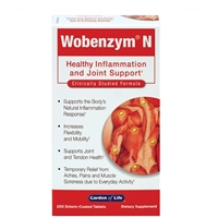 Wobenzym N (200 Tablets) Garden of Life