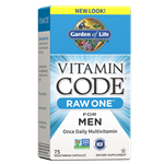 Vitamin Code RAW ONE for Men (75 Capsules) Garden of Life
