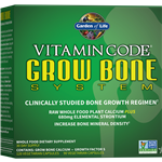 Vitamin Code Grow Bone System (30 Day) Garden of Life
