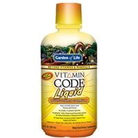 Vitamin Code Liquid Multi Orange Mango (30 oz) Garden of Life