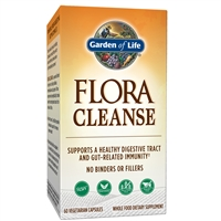 Flora Cleanse (60 VCaps) Garden of Life