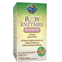 RAW Enzymes Women (90 Capsules) Garden of Life
