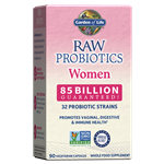 RAW Probiotics Women (90 Caps - Heat Sensitive Policy) Garden of Life