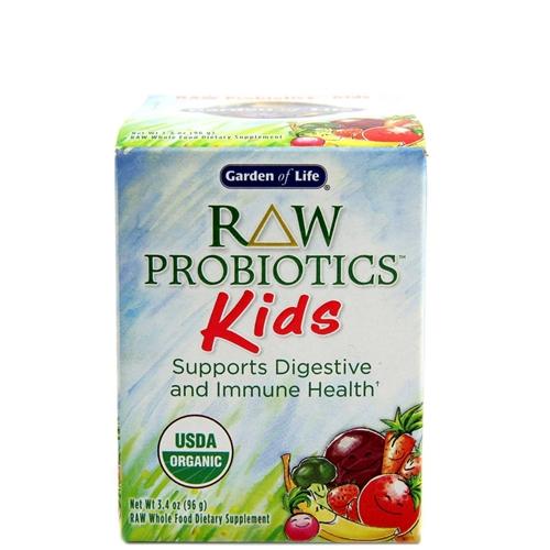 Raw Probiotics Kids By Garden Of Life Golden Apple Organics