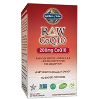 RAW CoQ10 (60 Capsules) Garden of Life