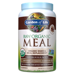 Raw Organic Meal Chocolate (1017g Powder) Garden of Life