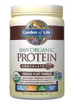Raw Organic Protein Chocolate (664g Powder) Garden of Life