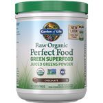 Perfect Food Raw Chocolate (338g Powder) Garden of Life