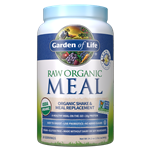 Raw Organic Meal Vanilla (969g Powder) Garden of Life
