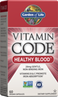 Vitamin Code Healthy Blood (60 Capsules) Garden of Life