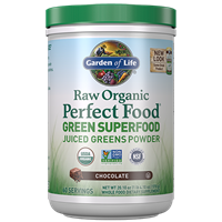 Perfect Food Raw Chocolate Double Size (570g Powder) Garden of Life