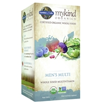 myKind Organics Men's Multivitamin (120 Tablets)