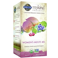 myKind Organics Women's 40+ Multivitamin (120 Tablets) Garden of Life