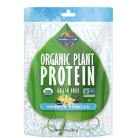 Organic Plant Protein - Smooth VANILLA (260g Powder)