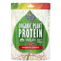 Organic Plant Protein - Smooth COFFEE (260g Powder)
