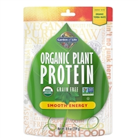 Organic Plant Protein - Smooth ENERGY (240g Powder)