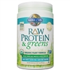 Raw Protein & Greens - LIGHTLY SWEETENED (651g Powder)